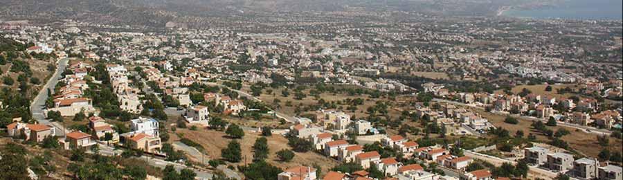 The View across Peyia | Cyprus Villas UK